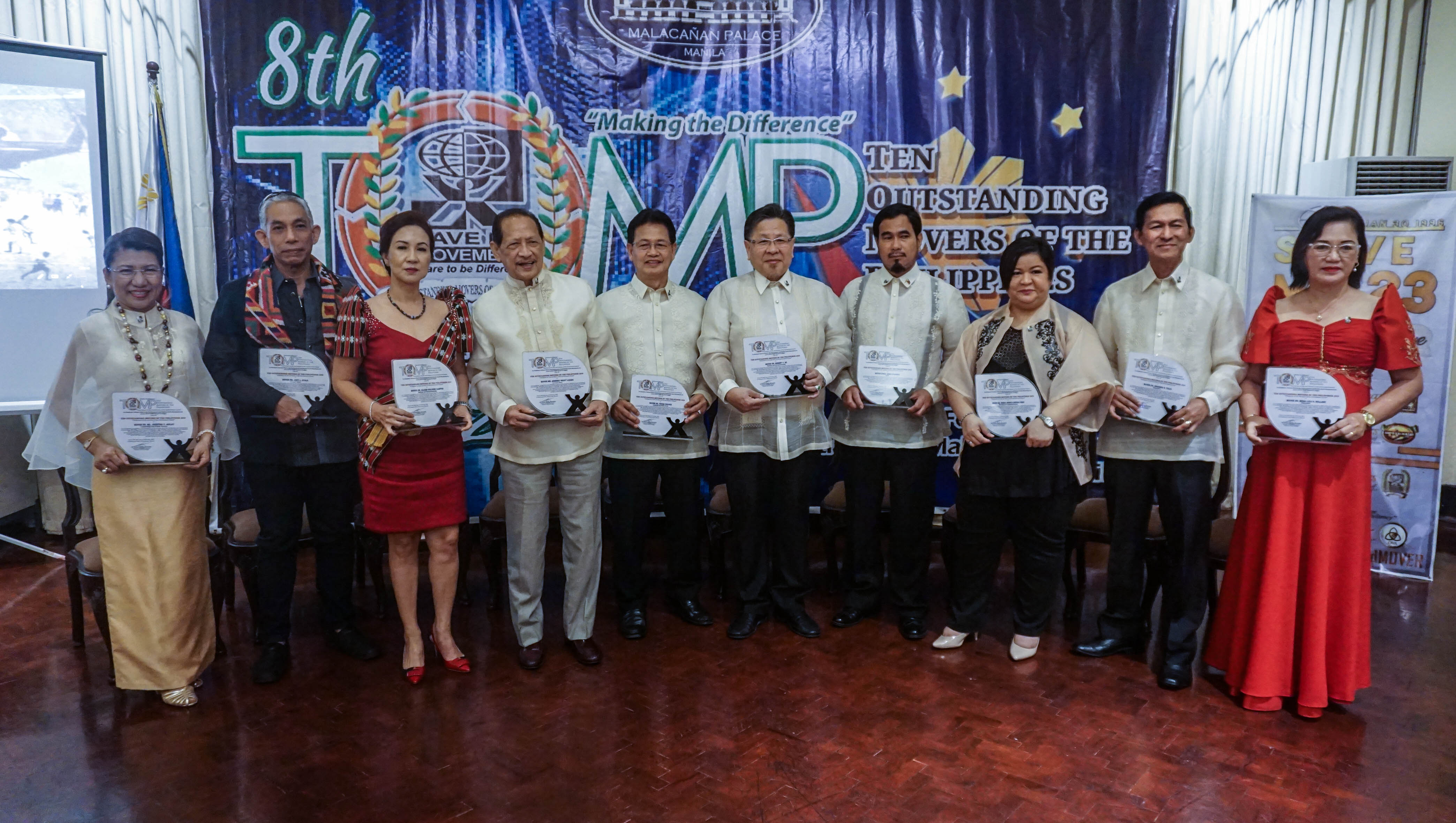 The 2019 Ten Outstanding Movers of the Philippines