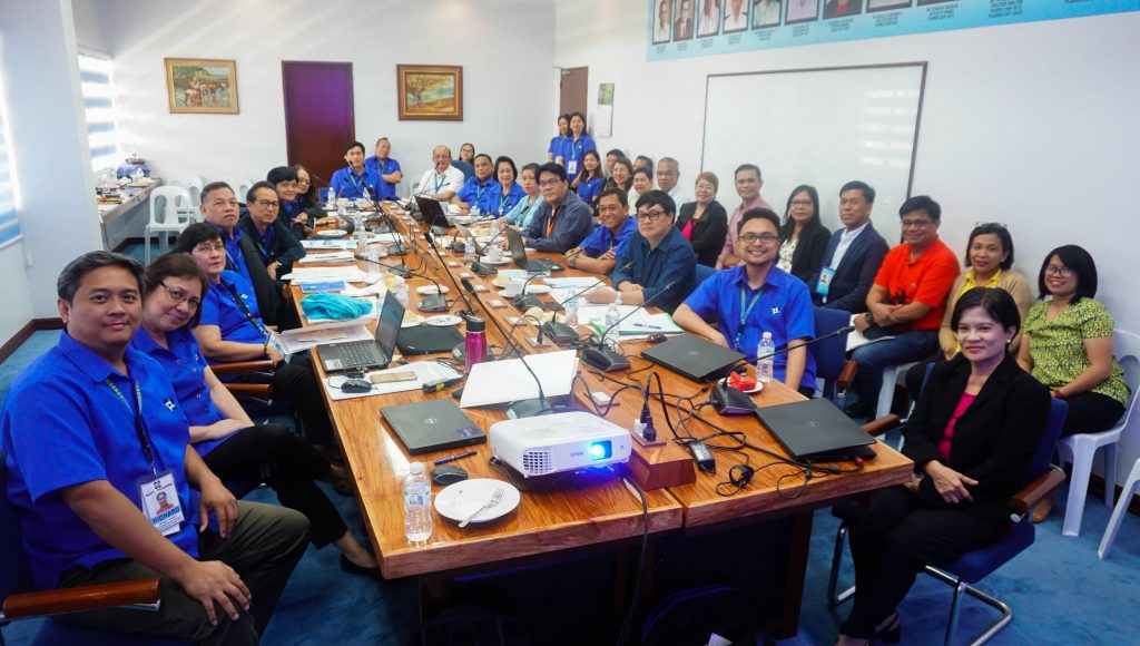 DOST-PCAARRD with the representatives from the MIMAROPA Regional Line Agencies (RLAs) and State Colleges and Universities (SUCs)